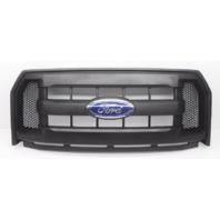OEM Ford F-150 XL Front Grille 3 Center Bars No Camera W/ Emblem-Scratches