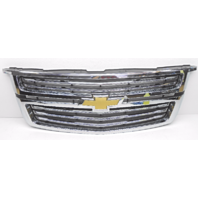 OEM Chevy Tahoe Suburban W/O LTZ Front Grille Chrome W/ Emblem-Chrome Scratches