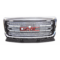 OEM GMC Canyon SLE SLT 2.5L 3.6L Front Grille Chrome With Emblem 23292021
