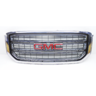 OEM GMC Yukon SLE SLT Front Grille Chrome Scratches on Chrome