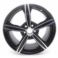 OEM Ford Fusion 18 Inch Aluminum Wheel Rim Black Groove Scratch