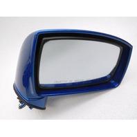 OEM Right Mirror Blue Hyundai Tiburon 876202C760 Light Scratches
