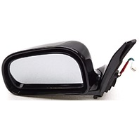 OEM Mitsubishi Mirage Left Driver Side Power Mirror Black Pearl