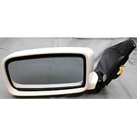 OEM Mitsubishi Lancer Left Driver Side Mirror White MR633767