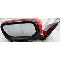 OEM Mitsubishi Outlander Left Driver Side Mirror Red MR642320