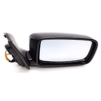 New OEM Mitsubishi Lancer Right Gloss Black Side View Mirror No Heat MN126376XA