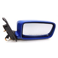 New OEM Mitsubishi Lancer Right Bright Blue Side View Mirror No Heat MN126376BA