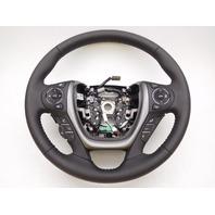 OEM Honda Ridgeline Leather Steering Wheel Red Stitch W/ Heat-Scuffs/Rubs