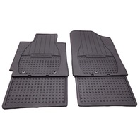OEM Hyundai Veloster All Weather Rubber Floor Mat Set Black 2V013-ADU00