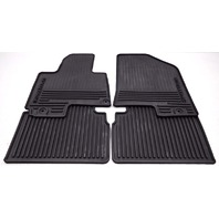 OEM Kia Sportage 4-Piece All Weather Rubber Floor Mat Set 3W013-ADU10