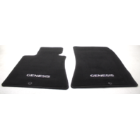 OEM Hyundai Genesis Sedan Floor Mat Set Black U8140-3M000-BR