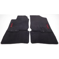 OEM Kia Forte 4-Piece Floor Mat Set Red Embroidered FORTE P8140-1M020-WK