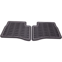OEM Hyundai Accent Rear All Weather Floor Mat Set U8130-1E100