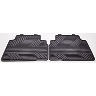 OEM Hyundai Tucson Rear All Weather Floor Mat Set Black 2SF13-AC500