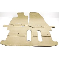 OEM Infiniti QX60 Floor Mat Set Front 2nd Row and 3rd Row Beige 999E2-R2001