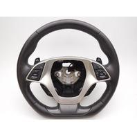 OEM Black Leather Steering Wheel Chevrolet Corvette 84016615