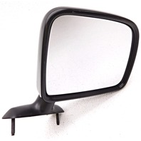 OEM Ford Aerostar Right Passenger Side Manual Mirror Black Surface Scratches