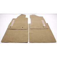 OEM Nissan Titan Texas Edition Beige Floor Mat Set 714T9-TXBGF