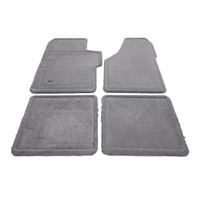 OEM Ford F250SD/350/450 Front & Rear Floor Mats Med Graphite F81Z-2513086-CAC