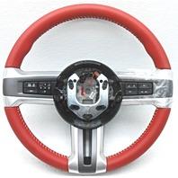 OEM Ford Mustang Steering Wheel Red DR33-3600C-D