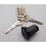 NOS New OEM Ford Bronco Tail Gate Key Lock & Cylinder Black F5TZ-9821984-BA