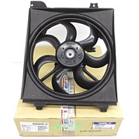 Genuine OEM Kia Rio Radiator Condenser Fan Motor 97730-1G000