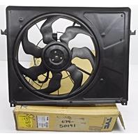 Aftermarket TYC Radiator Condenser Fan Hyundai Sonata