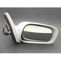 OEM Right Mirror White Toyota Matrix 87910-02411-J1 Scratches