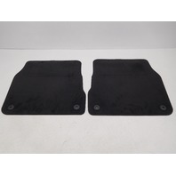 OEM Audi A6 Rear Floor Mats Black 4B3-061-226-EA-90G