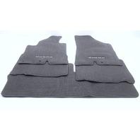 New OEM Hyundai Veracruz Dark Gray 5 Piece Carpet Floor Mat Set 3J014-ADU00-7Q