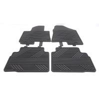 OEM Hyundai Tucson Front & Rear All Weather Floor Mat Set 2SF13-AC005