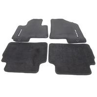 OEM Kia Sportage Front & Rear Black Floor Mat Set 3WF14-AC000-WK