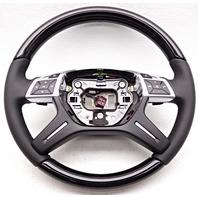 OEM Mercedes-Benz ML GL Steering Wheel Black Leather 1664609503