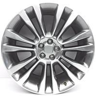 OEM Lincoln MKX 21 Inch Aluminum Wheel Rim Chrome Plating Peeling Curb Scratches