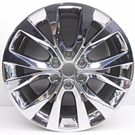 OEM Ford F150 20 inch Chrome Y-Spoke Aluminum Wheel Rim Surface Scratches