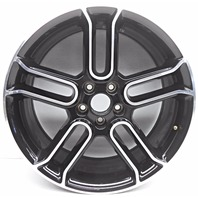 OEM Ford Edge Flex 20 inch Aluminum Wheel Rim Black Surface Scratches