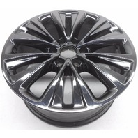 OEM Lincoln Navigator 20 inch Aluminum Wheel Rim Black Chrome Scratches