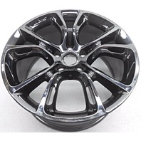 OEM Jeep Grand Cherokee 20 inch Dark Vapor Chrome Wheel Small Nick and Scratches