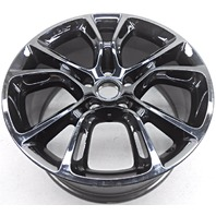 OEM Jeep Grand Cherokee 20 inch Dark Vapor Chrome Wheel Discoloration Scratches