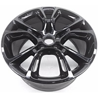OEM Jeep Grand Cherokee 20 inch Gloss Black Wheel Discoloration Scratches