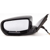 OEM Acura MDX Left Driver Side Mirror Surface Scratches on Housing Black