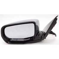OEM Acura MDX Left Driver Side Mirror Surface Scratches on Housing Silver