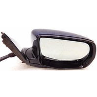 OEM Acura MDX Right Passenger Side Mirror Surface Scratches on Housing Blue