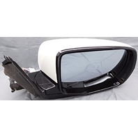 OEM Acura MDX Right Passenger Side Mirror Surface Scratches on Housing White