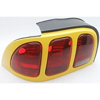 OEM Ford Mustang Left Driver Side Tail Lamp Yellow Trim Small Lens Cracked