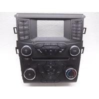 OEM Ford Fusion Audio Stereo Temp Control Face Plate Sirius Radio FS7T-18E243-KE