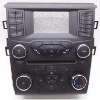 OEM Ford Fusion Radio Temperature Control Panel Face Plate-2 Edge Minor Nicks