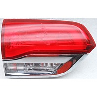 OEM Jeep Grand Cherokee Left Driver Side Gate Mounted Tail Lamp Chrome Flaws