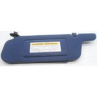 OEM Ford Taurus Mercury Sable Sun Visor Blue Small Cut  F5DZ-5407105-DAM