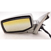 OEM Cadillac SRX Left Driver Side Mirror Glass Discolored Marks on Housing
